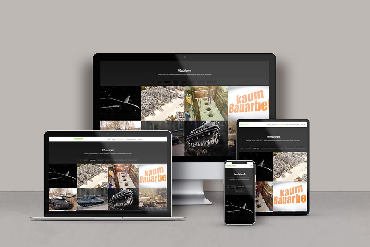 Website Filmteam Sachsen