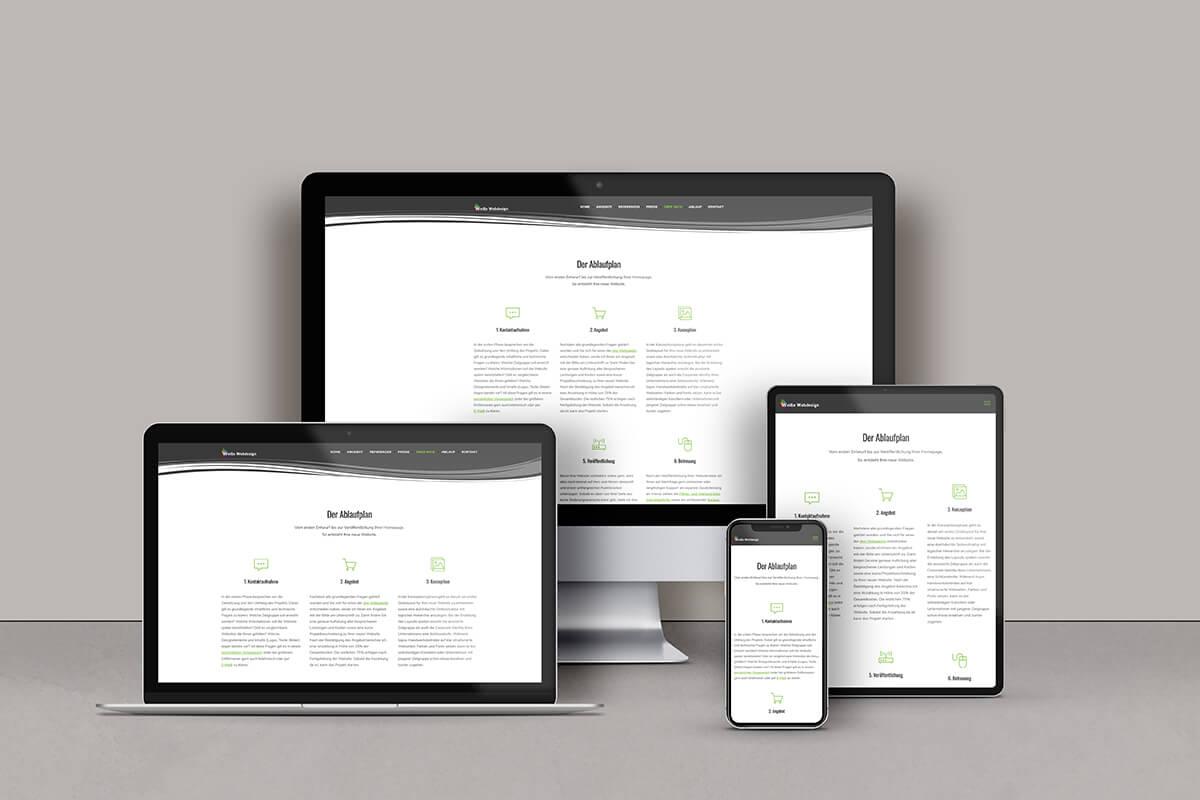 Website Weiße Webdesign